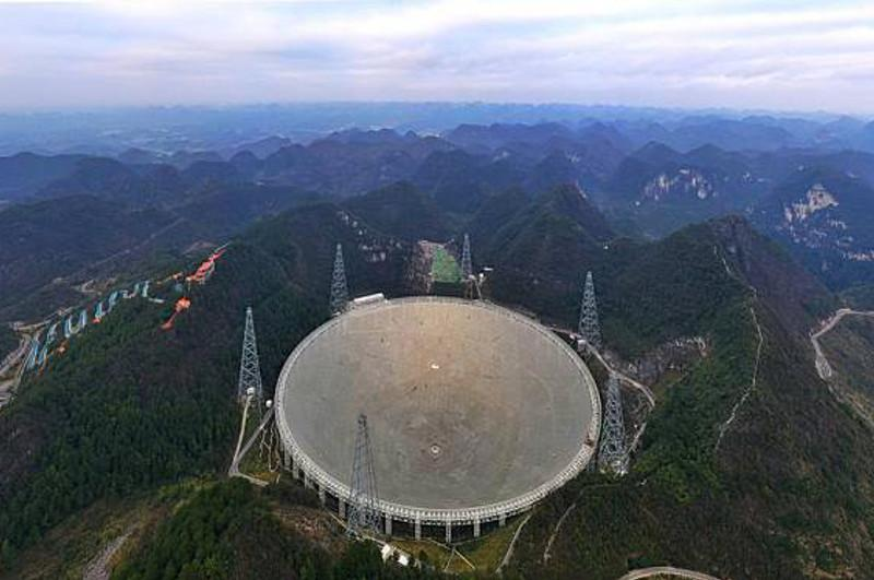 China's FAST telescope detects extragalactic neutral hydrogen for dark matter study