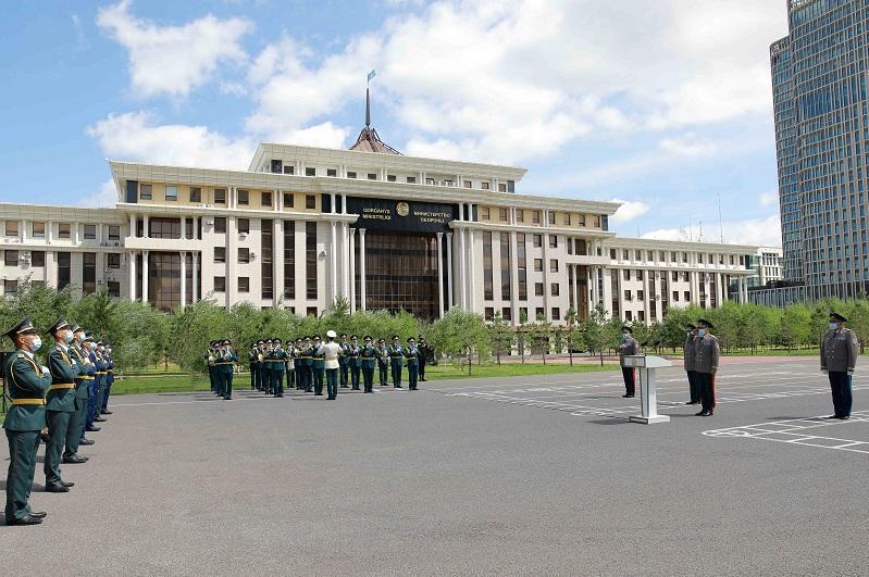 Выпуск магистрантов Национального университета обороны состоялся в столице