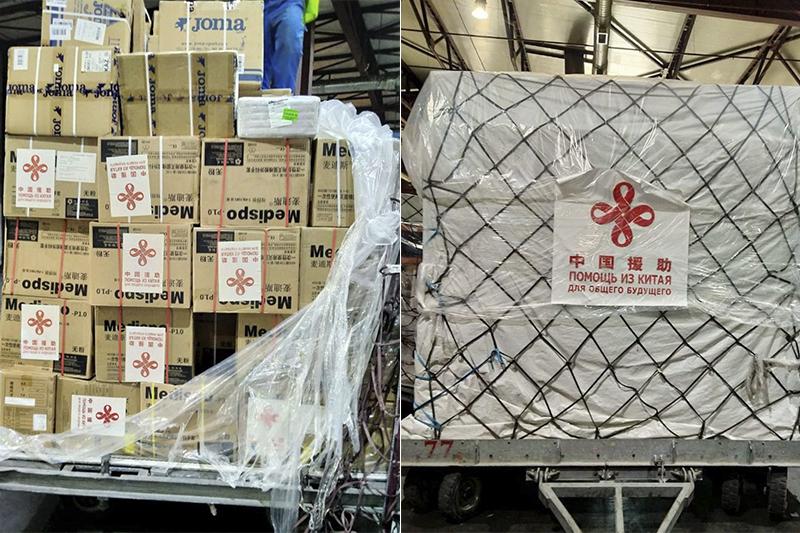 Қытайдан Қазақстанға гуманитарлық жүк келді