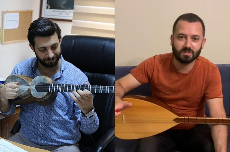 Turkish musicians perform Kazakh kyuis and congratulate on Dombra Day