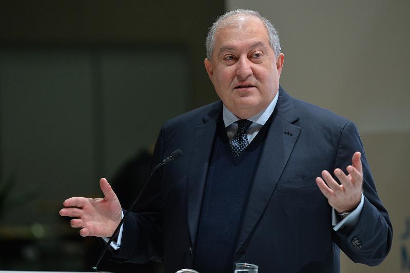President of Armenia congratulates Nursultan Nazarbayev on his 80thbirthday