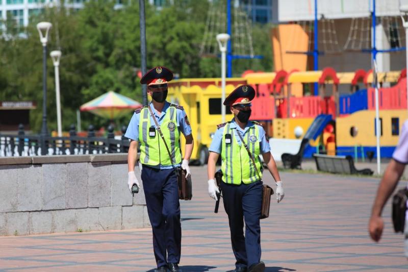 Нұр-Сұлтан полициясы ерекше жұмыс тәртібіне көшті