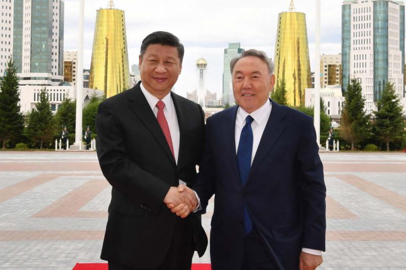Xi Jinping congratulates Nursultan Nazarbayev on his birthday
