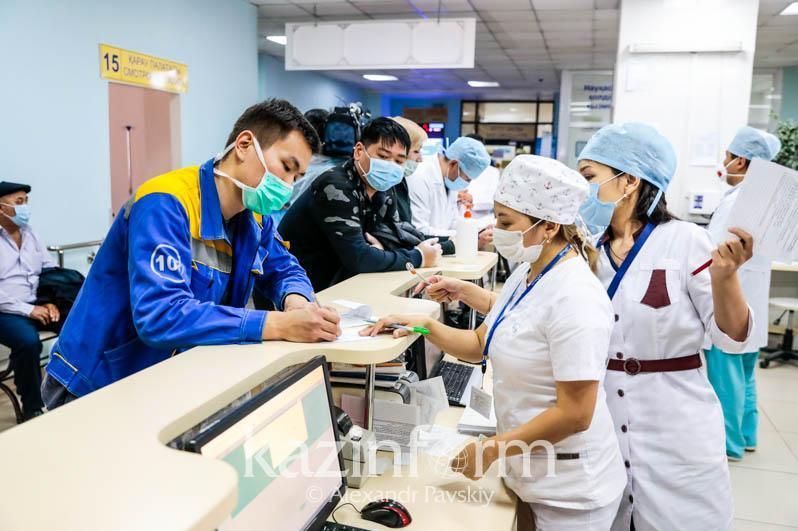 Алматыда инфекциялық ауруларды емдейтін мекемелердің жүктемесі 85 пайызға жетті