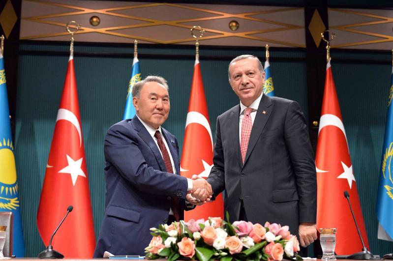 Реджеп Тайип Эрдоган поздравил Елбасы с юбилейным днем рождения