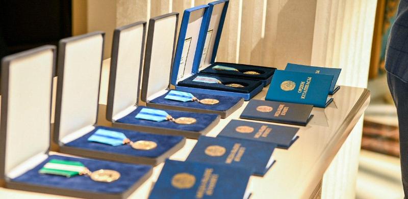 Оралдық дәрігерлерге мемлекеттік наградалар табыс етілді