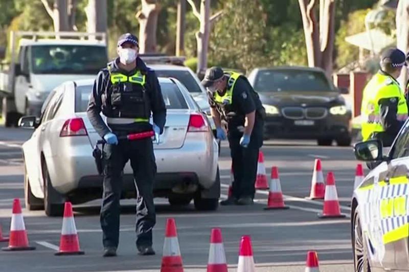 新冠确诊病例激增 澳大利亚墨尔本重启封锁至少六周