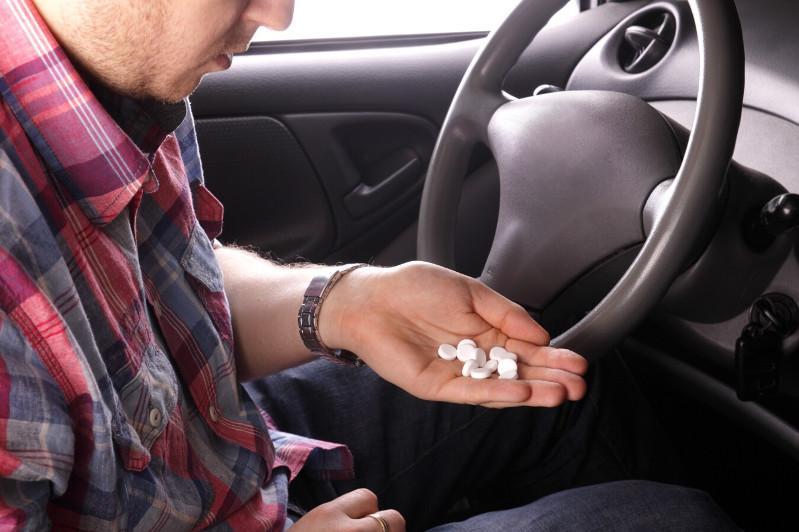 Водителя под действием наркотиков задержали акмолинские полицейские