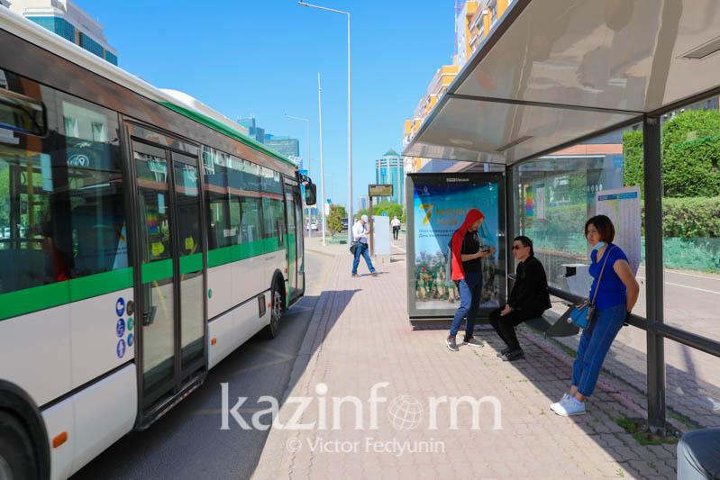 При каких условиях могут запустить автобусы в Нур-Султане, объяснил аким