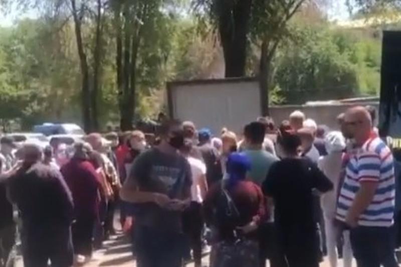 Almaty ákimdigi máıithana mańyndaǵy jaǵdaıdy túsindirdi