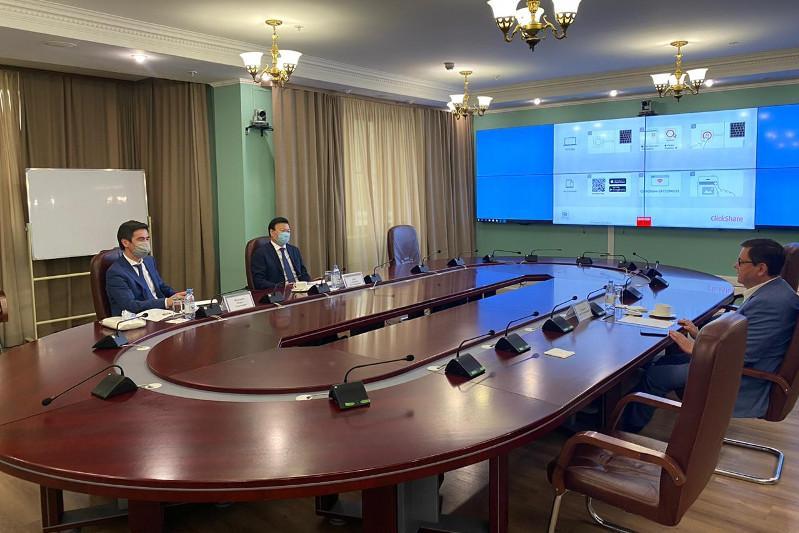 Алексей Цой обсудил с замминистра здравоохранения РФ взаимодействие в борьбе с COVID-19