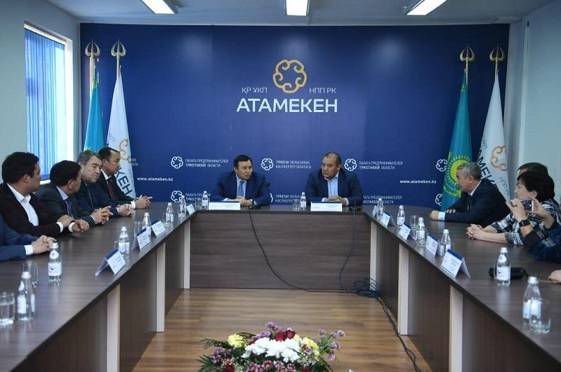 Túrkistan oblysynda kásipkerler palatasynyń keńesine úmitkerlerdi qabyldaý bastaldy