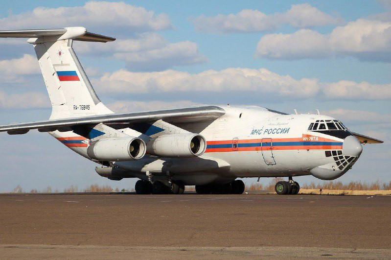 Самолет с гуманитарным грузом из России прибыл в Нур-Султан