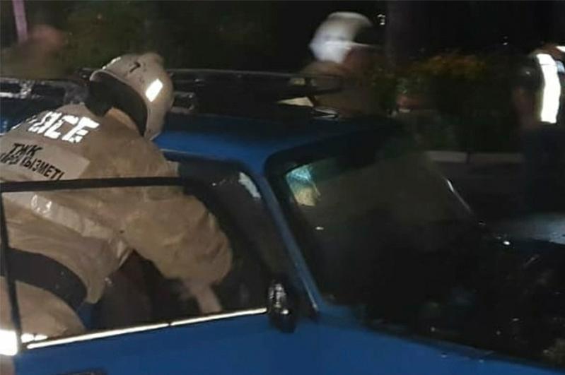 Четыре автомобиля загорелись за сутки в ВКО