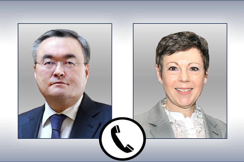 Глава МИД РК и госсекретарь иностранных дел Швейцарии обсудили борьбу с COVID-19
