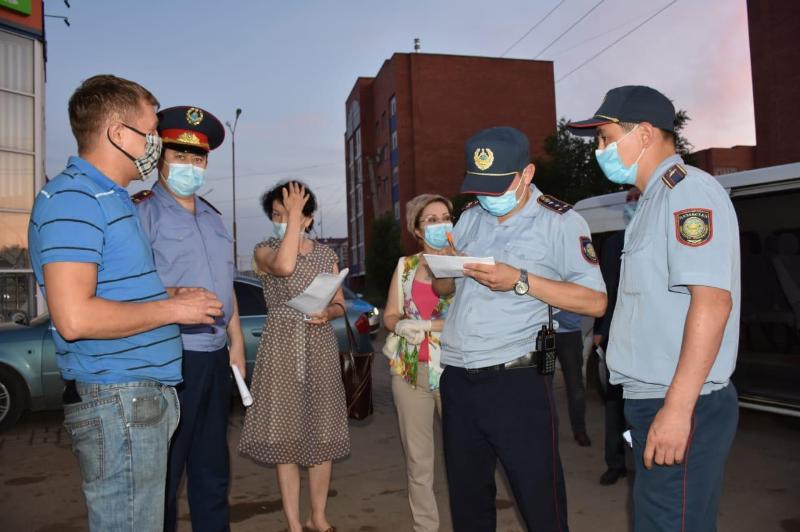 Ақтөбе полициясы карантин талабын бұзғандарды анықтады