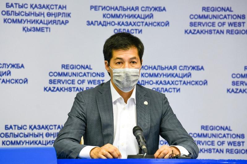 О текущей ситуации по коронавирусу рассказал аким ЗКО