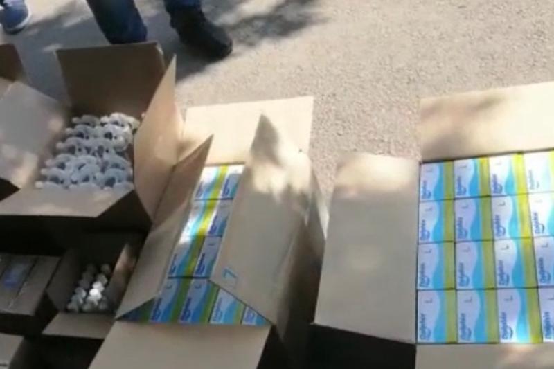 Перчатки и маски на 1,5 млн тенге изъяли из незаконной продажи в Нур-Султане