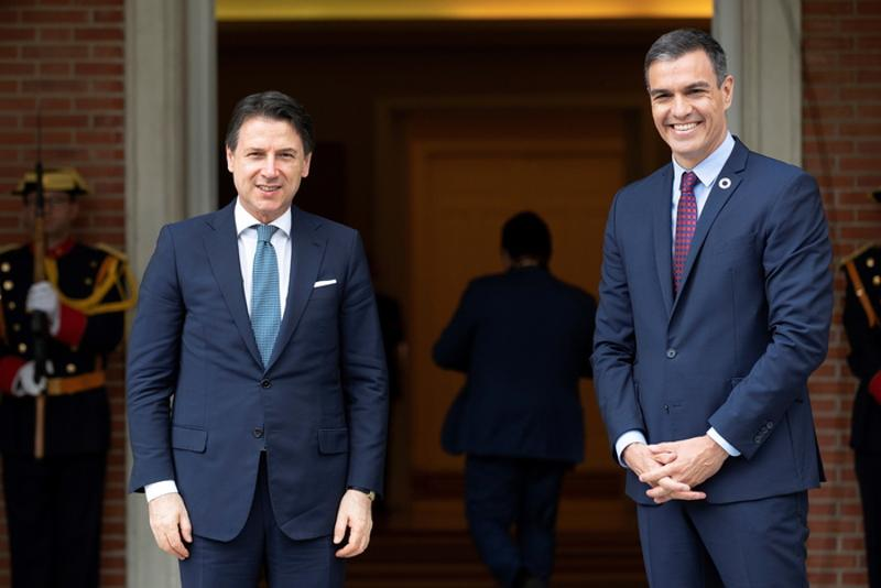 ANSA: Italy and Spain agree push for Recovery Fund deal this month