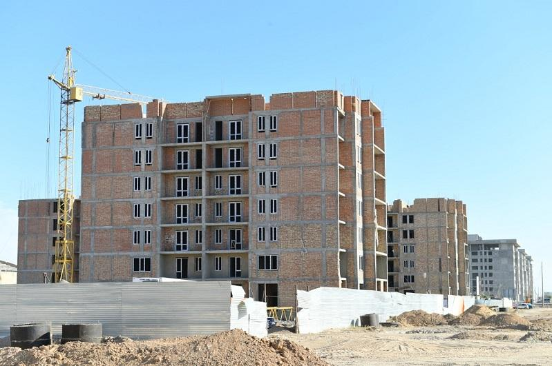 1,452 households to receive housing in Turkestan by yearend