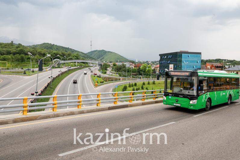 Строительство первой очереди BRT в Алматы завершится в сентябре этого года