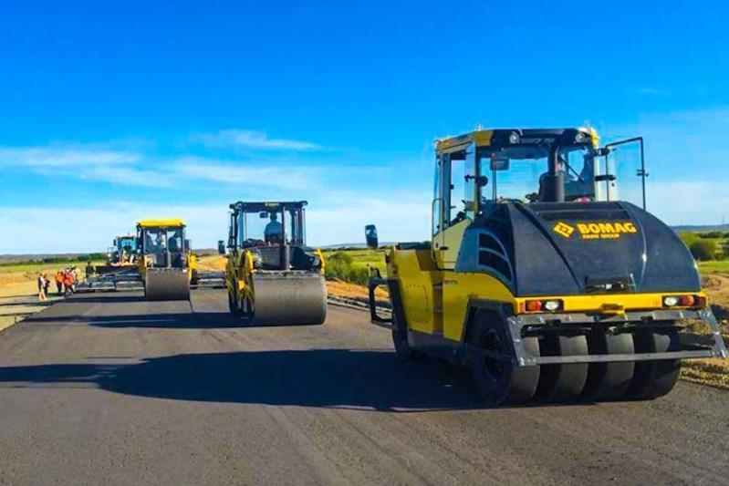 Более трех тысяч человек задействованы на реконструкции дороги «Караганда-Балхаш»