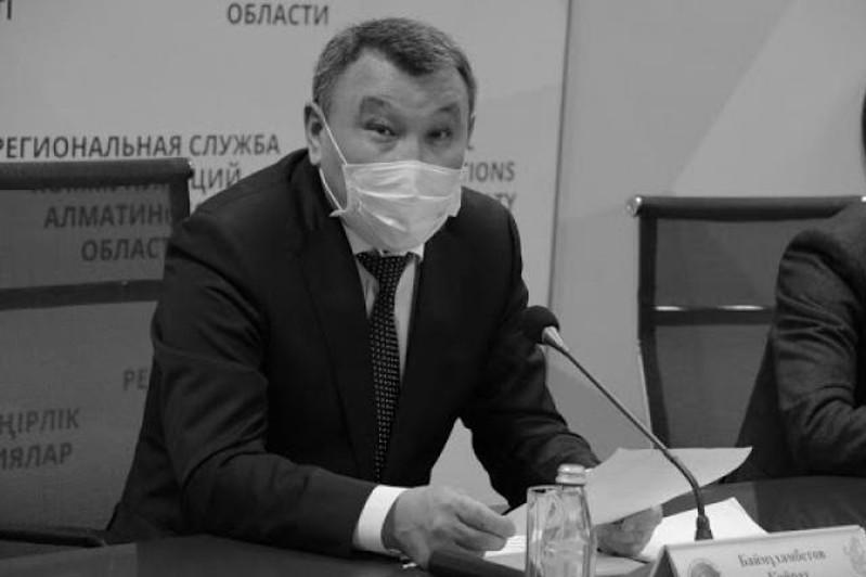 Ушел из жизни главный санврач Алматинской области
