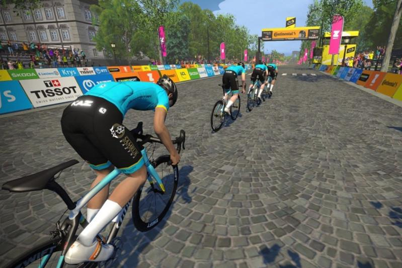 Astana Pro Team name roster for Virtual Tour de France Stage 3