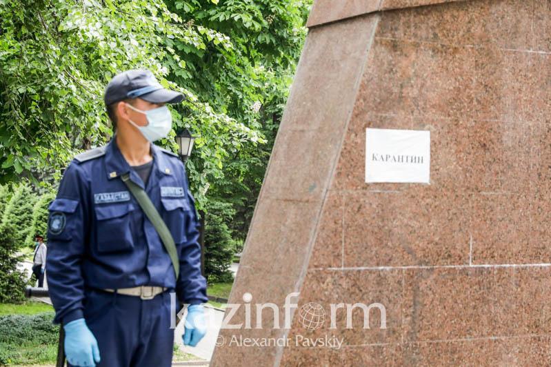 Замакима Алматы поручил усилить режим карантина