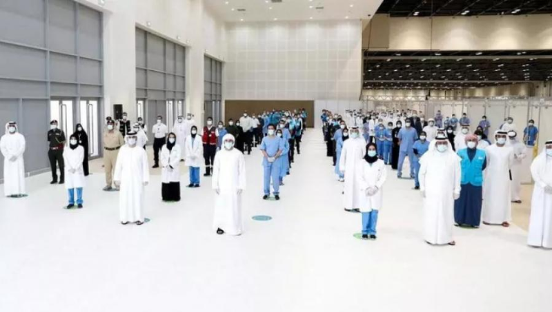 随着最后一名病人出院 迪拜关闭当地最大的新冠临时医院