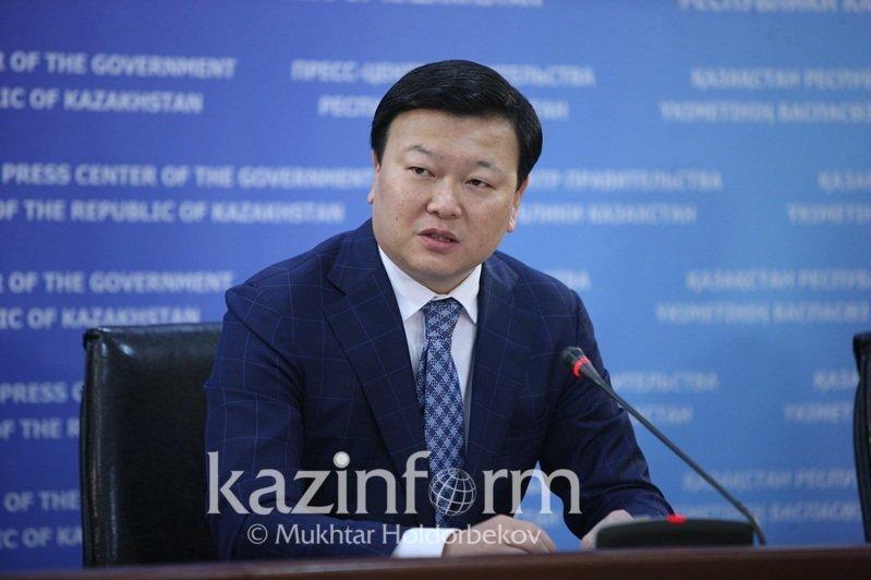 Алексей Цой поговорил по телефону с послом КНР в Казахстане