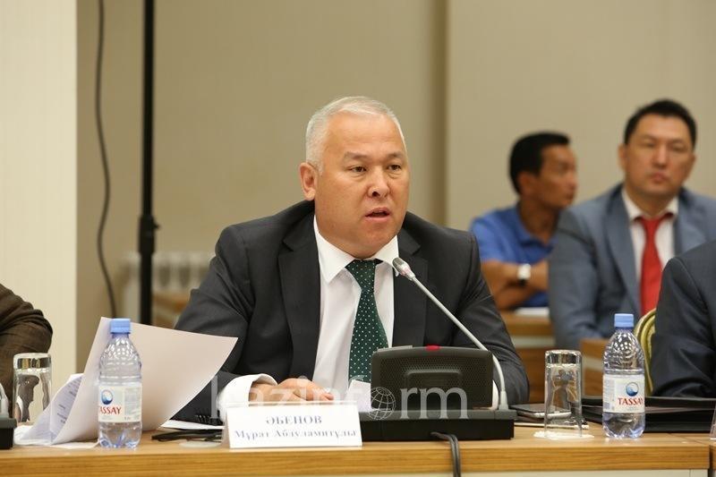 Мұрат Әбенов: Президент өте өзекті экологиялық проблемалар туралы сөз қозғады