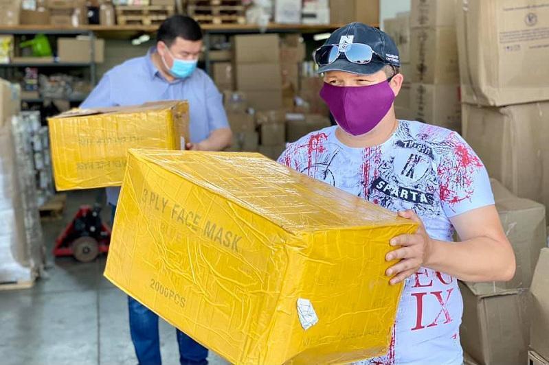 俄罗斯秋明州哈萨克人为北哈州提供人道主义捐助