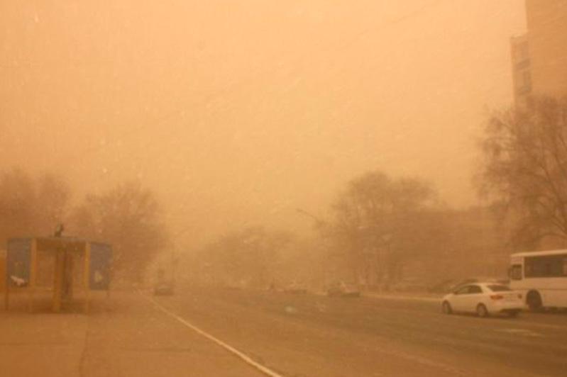 Пыльная буря ожидается в Мангистауской и Туркестанской областях