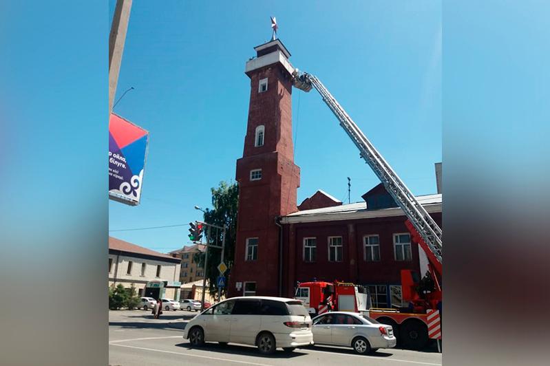 93-летнюю пожарную каланчу реставрируют в Семее