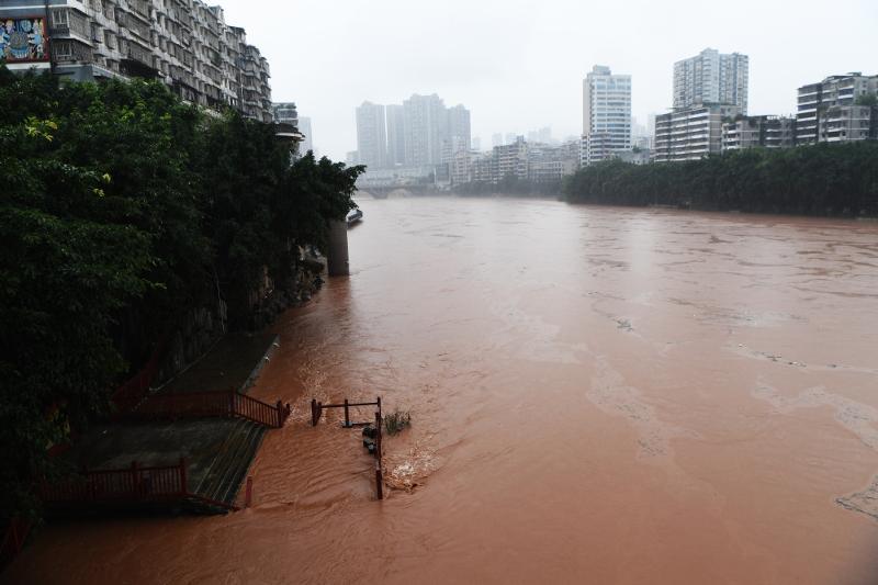 В Китае усилили меры реагирования из-за наводнений