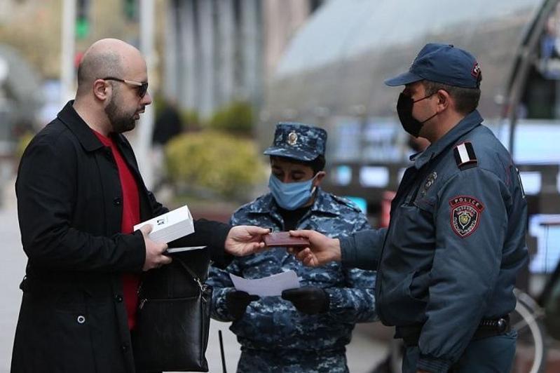 Режим ЧП продлили в Армениииз-за коронавируса