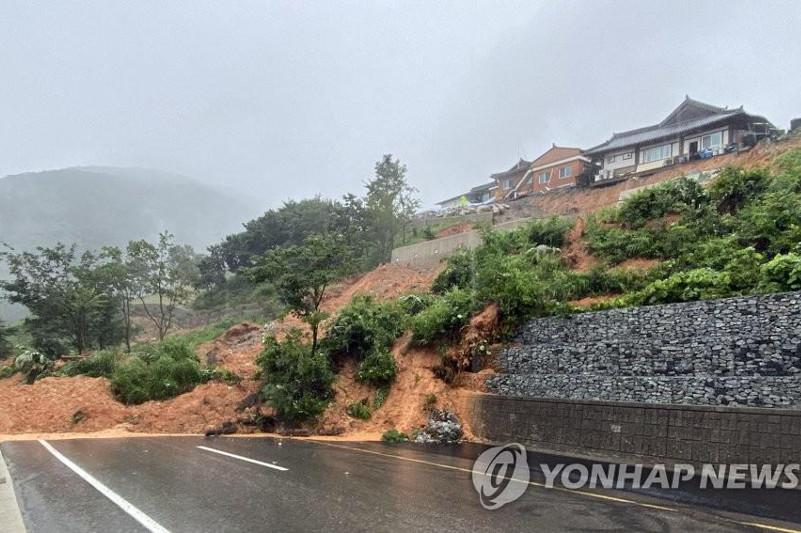 Southern South Korea hit by devastating downpours