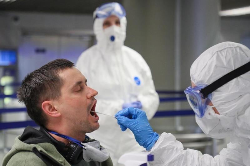 В России за сутки коронавирус выявлен у 6 537 человек