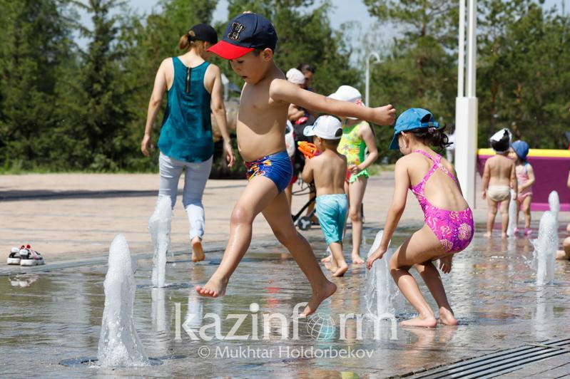 Mostly dry, hot weather to settle in Kazakhstan midweek