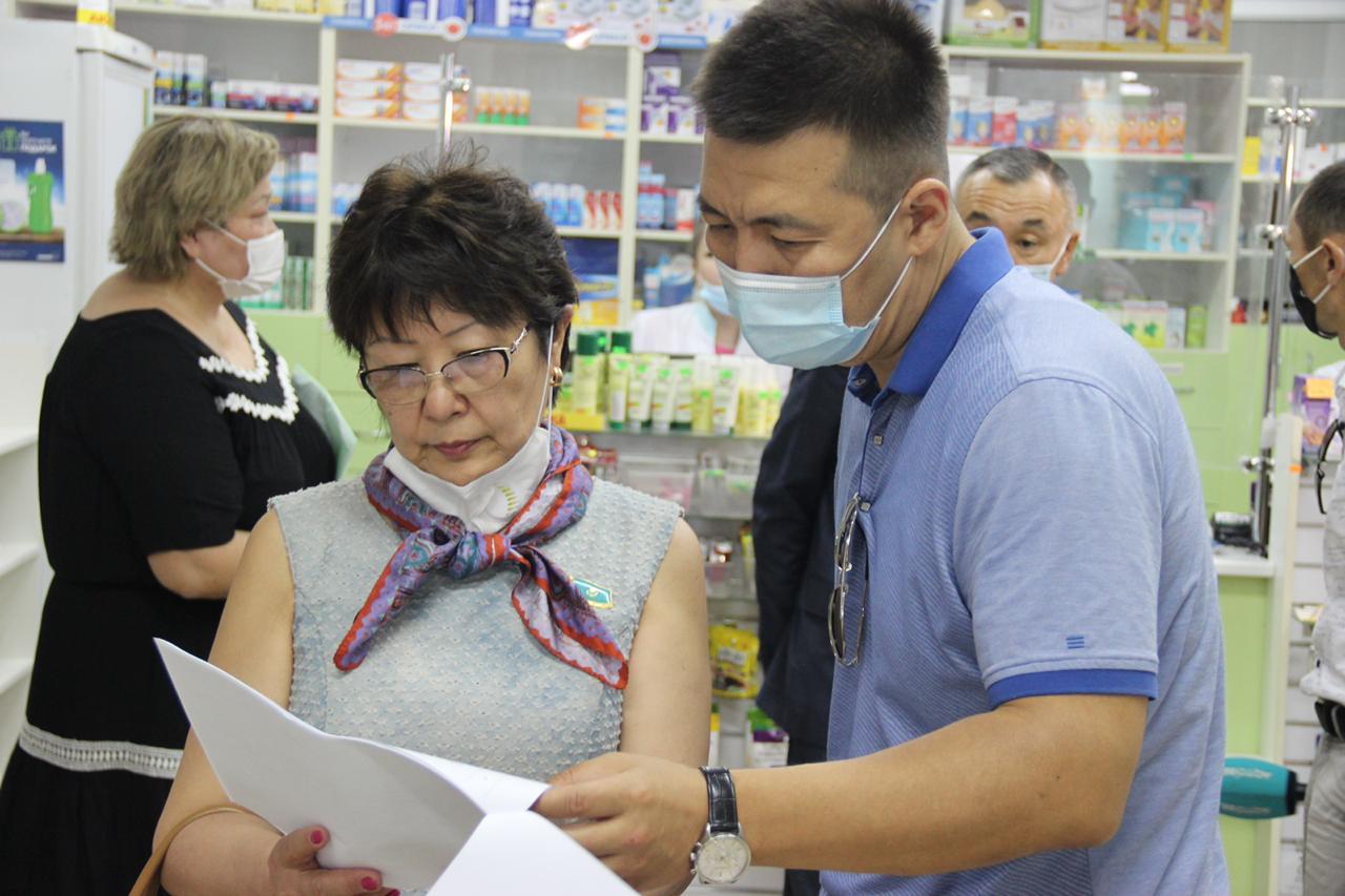 Мажилисмены совместно с Антикоррупционной службой проверили аптеки в  Актобе