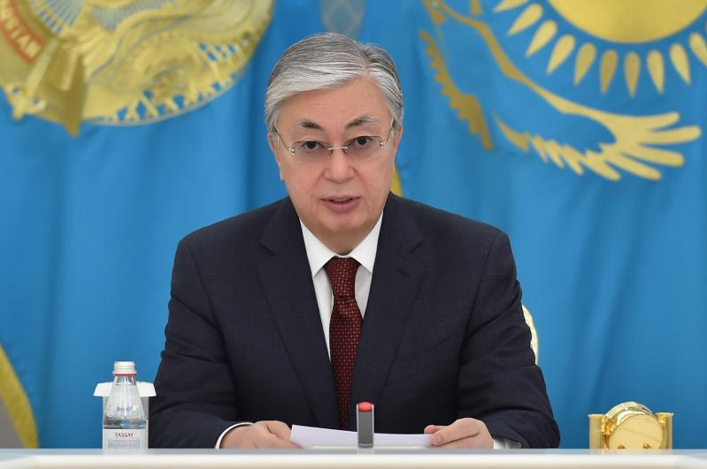 President urges Kazakhstanis to observe precautions amid fight vs. COVID-19