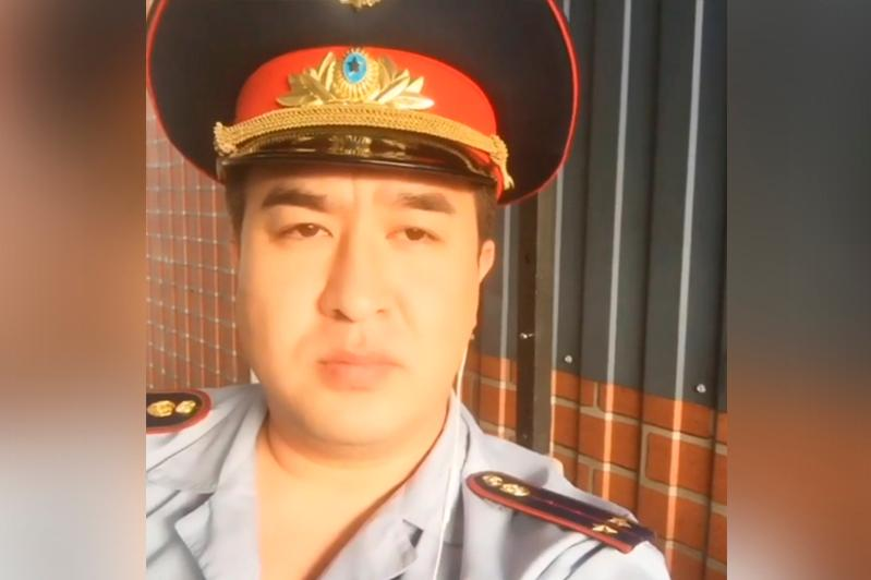 Almaty polıtsııasy belgili ánshi túsirgen vaınǵa qatysty málimdeme jasady