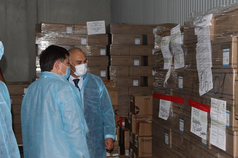Түркістан облысында СК-Фармацияның өңірлік қоймасына тексеру жұмыстары жүргізілді