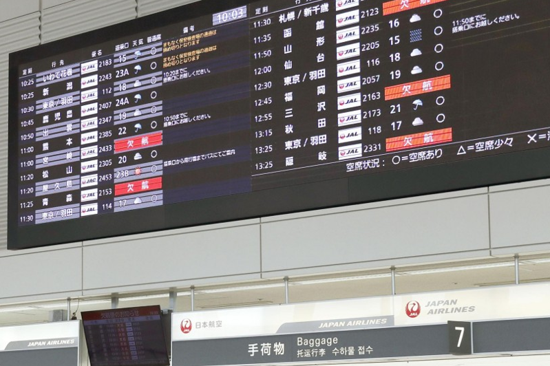 Virus testing centers may open in September at Japan airports