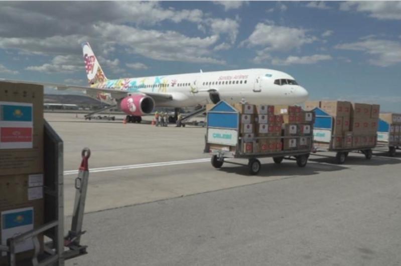 土耳其向哈萨克斯坦提供11吨人道主义援助物资