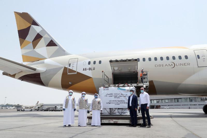 UAE sends second medical aid plane to Kazakhstan in fight against COVID-19