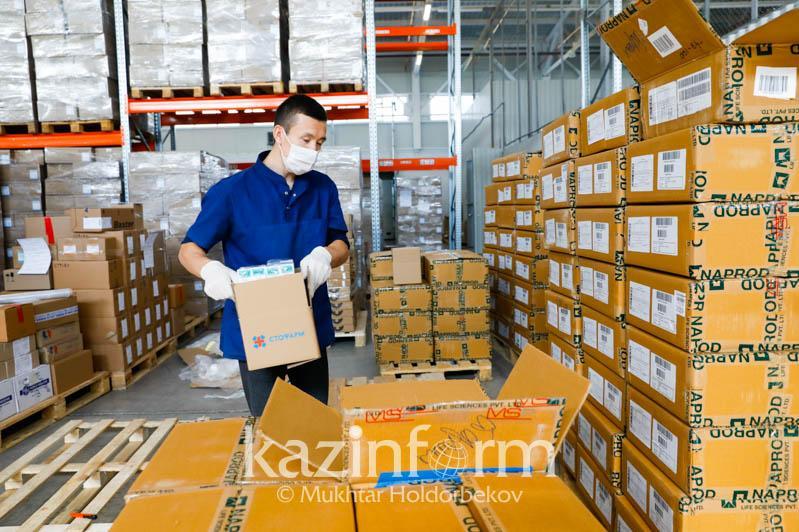 来自中国和俄罗斯的人道主义援助物资将分发至哈全国