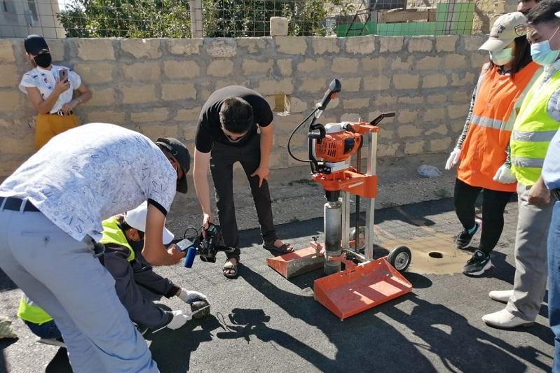 Качество дорог в селе Баянды проверили после нашумевшего ролика о «персидском ковре»