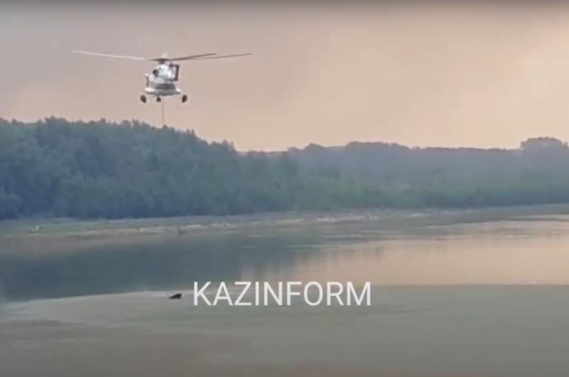 Три лесных пожара тушат в Западно-Казахстанской области